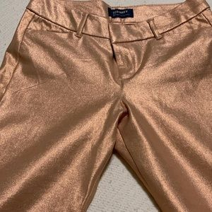 Rose Gold / Pink Bling Old Navy Pixie Pant 🌹